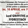 Lordul Griffiths la Centrul Areopagus